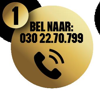 Bel naar 030 - 22.70.799